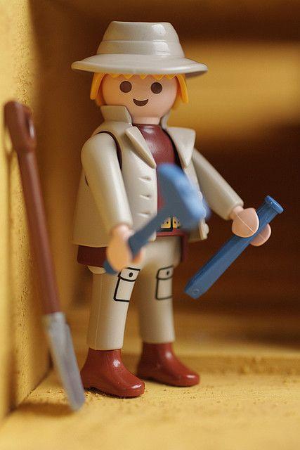 Playmobil Archaeologist