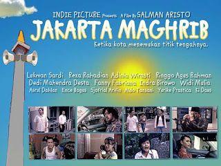 Jakarta Maghrib (2010) Download & Streaming Jakarta Maghrib (2010). Jakarta Maghrib adalah sebuah usaha untuk menangkap suasana metropolitan saat sedang menuju kontemplasinya. Semua hubungan manusia menemui ambang batasnya di waktu Maghrib itulah benang merah dari 6 cerita yang ada. Sepasang suami istri yang ingin bercinta (Indra Birowo & Widi Mulia) dalam IMAN CUMA INGIN NUR seorang preman dan penjaga musholla (Asrul Dahlan & Sjafrial Arifin) dalam ADZAN penghuni kompleks perumahan (Lukman…