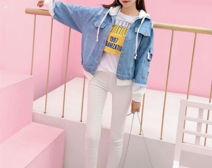 F91# Wholesale Fashion Clothing 2017 Fall&winter Casual Women Broken Ripped Hoodie Embroidered Patchwork Denim Jacket Coat Stock - Buy Ooded Denim Jacket Manufacturer Women Layered Drawstring Hood Long Sleeves Hoodie Denim Jacket,New Arrival Spring Wear Womans Sweater Sleeve Blue Wash Short Knit Hoodie Denim Jacket For Ladies,Popular Design Woman Jean Sleeveless Hoodie Plain Denim Jacket Product on Alibaba.com #rippedjeanswomenwinter #rippedjeanswomenclothing