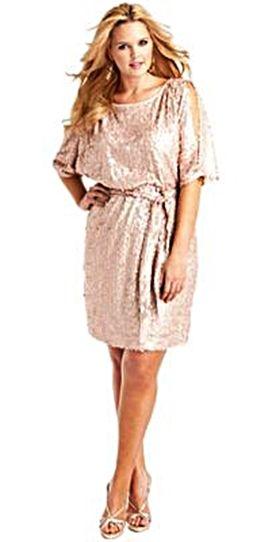 Sequin dress for plus size women.  http://www.delightfullycurvy.com/8-tips-wearing-plus-size-sequin-dress/