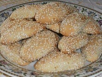 Greek Sesame Cookies