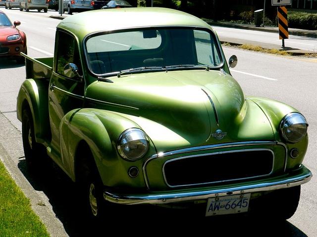 1960 morris minor pickup