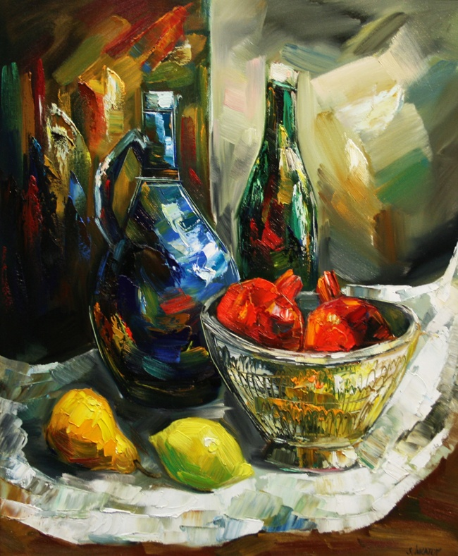 Still life with fruits (73X60)