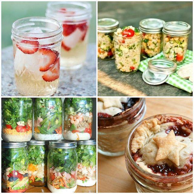 #Recipe: Mason Jar #Picnic