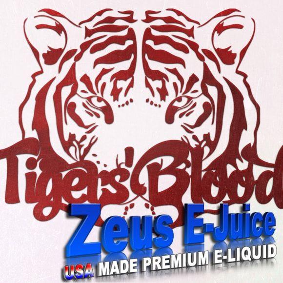 Zeus E-Juice Tigers Blood