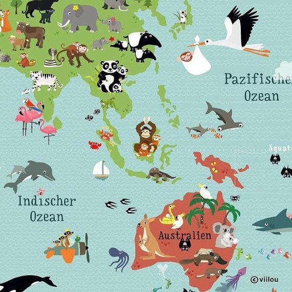 Die besten 25+ Weltkarte für kinder Ideen auf Pinterest Karten - design des projekts kinder zusammen
