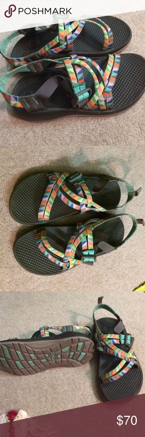 Women's Chaco sandals size 7! Only wore a couple times. Super comfy. Willing to bargain. Chacos Shoes Sandals