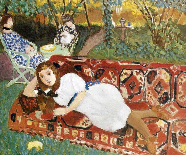 Young Women in the Garden, 1919Henri Matisse