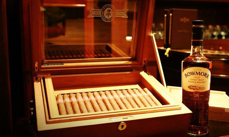 IL CIGAR CORNER: MOMENTO DI DEGUSTAZIONE E RELAX