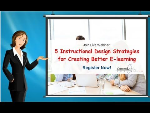 5 Instructional Design Strategies for Creating Better E-learning - YouTube