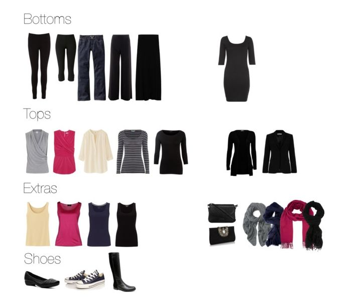 Spring in London 2014 - packing list for 23 days with a carry-on pt1  (long skirt is convertible to a knee length dress).