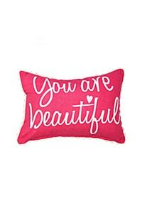 YOU ARE BEAUTIFUL SCATTER CUSHION
