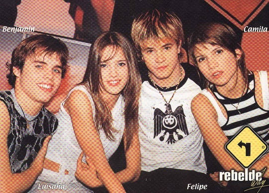 I loved Rebelde Way