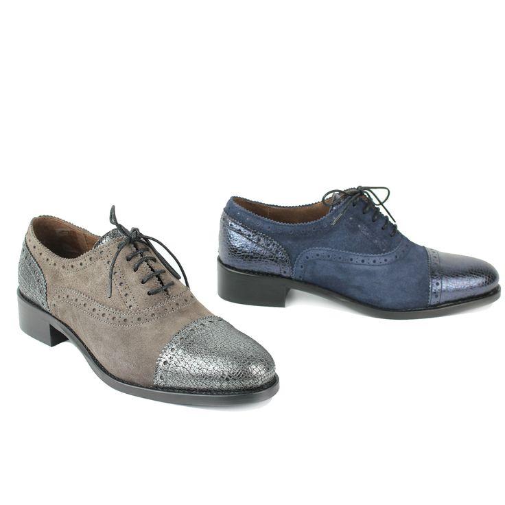 Chaussures En Cuir Marron Avec Bout Carré Île Rivière Derby W7yqOhf