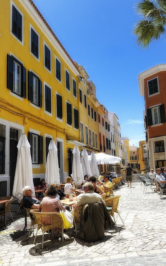 Mahon, Minorca, Spain #menorca #menorcamediterranea
