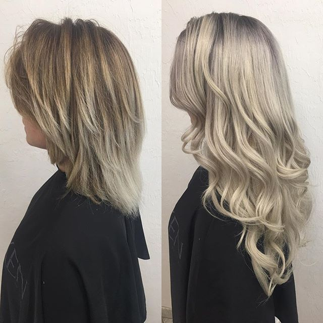 halo couture extensions saves the day yet again Cool Blonde : Hair