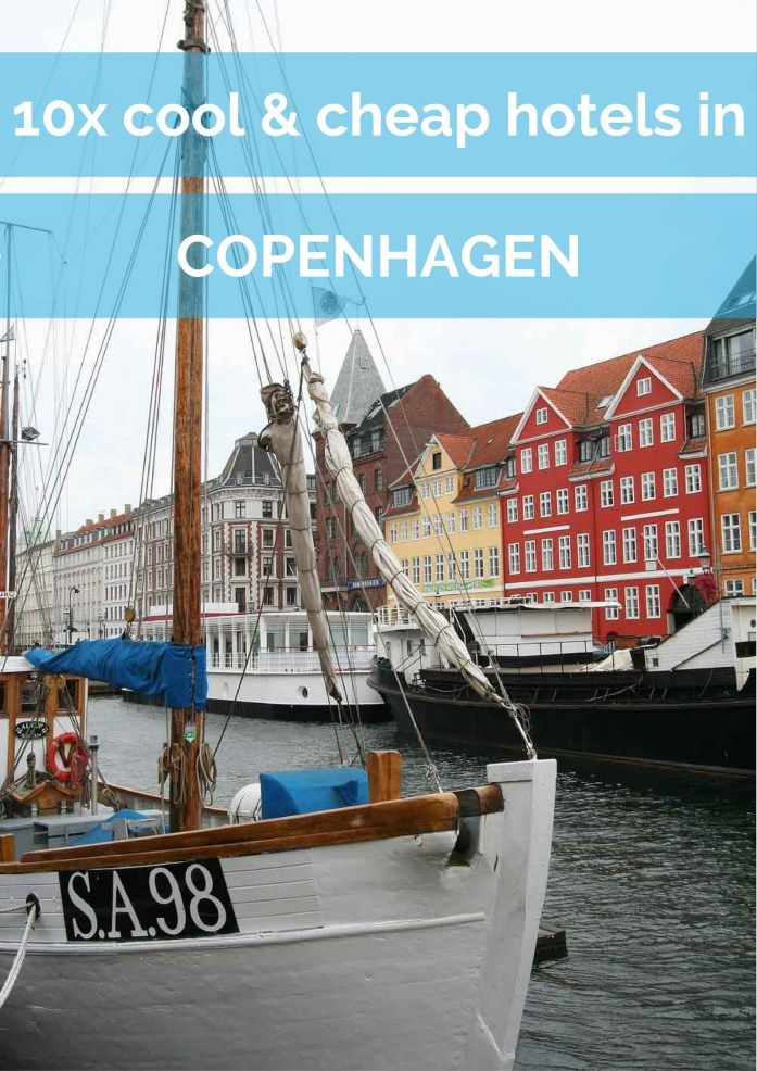 10x cool and cheap hotels in Copenhagen - Map of Joy