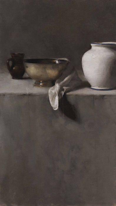 dana levin: vertical still life in greys (2005)