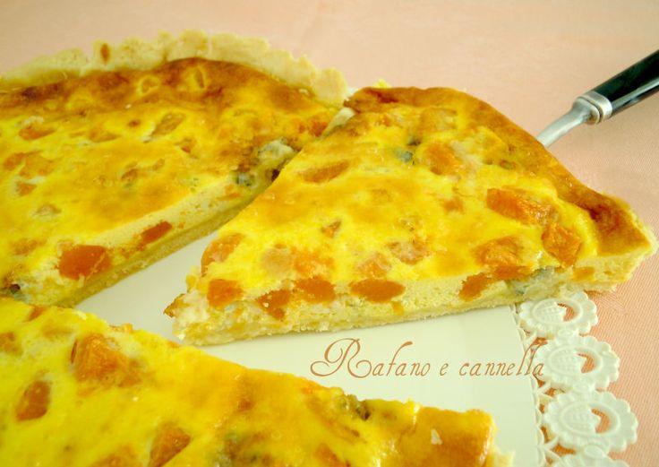 Torta salata di zucca e gorgonzola  http://blog.giallozafferano.it/rafanoecannella/torta-salata-zucca-gorgonzola/