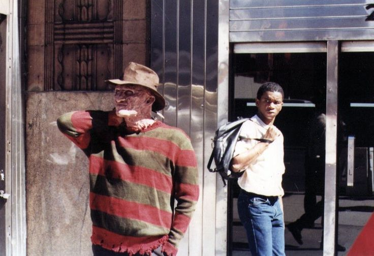 """mastersofthe80s: """"Robert Englund's awkward breaks during filming of 'Freddy's Revenge' (1985) """""""