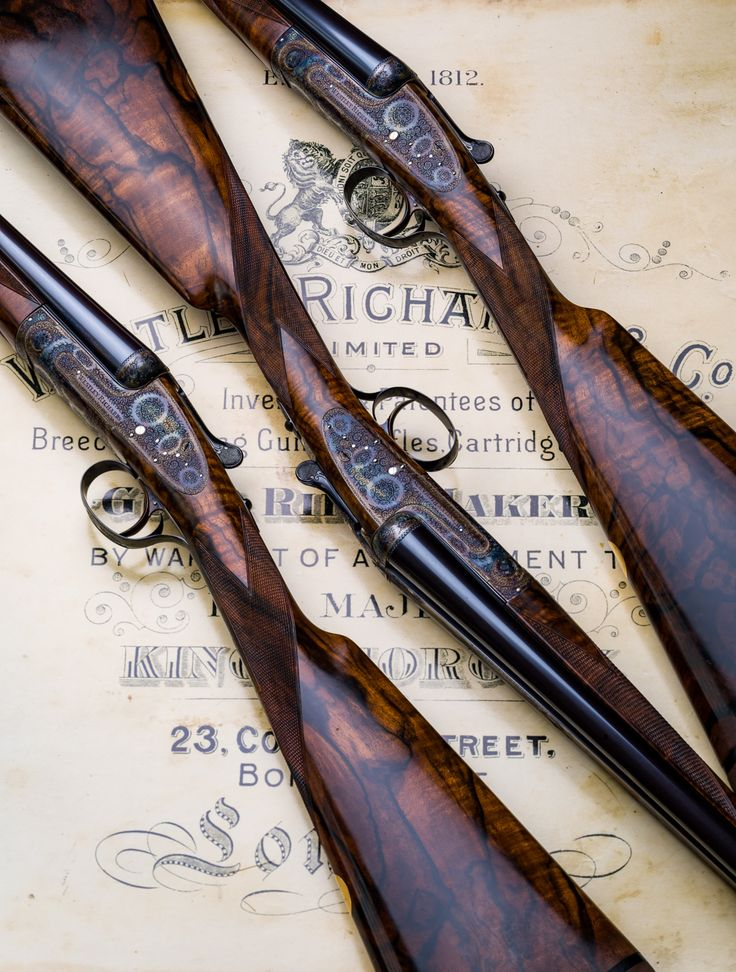Set of 3 20g Westley Richards sidelock
