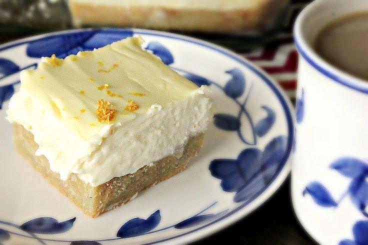 Low Carb Lemon Cheesecake Bars – Simply Taralynn
