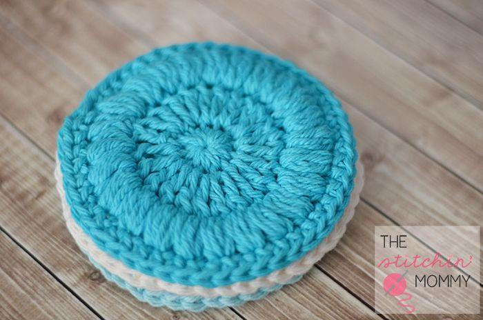 Blue Face Scrubby Easy Crochet Pattern   FaveCrafts.com