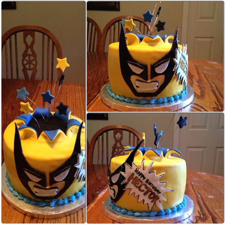 Wolverine Cake for Hector -M.K.