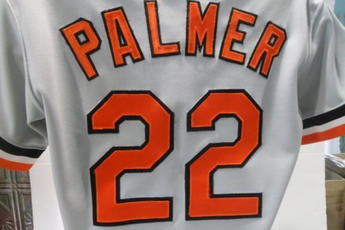 save off a8d97 29671 Vintage-Rawlings-Jim-Palmer-22-Stitched-Orioles-Jersey-Size ...