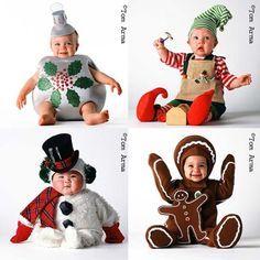 Disfraces de Navidad para niños