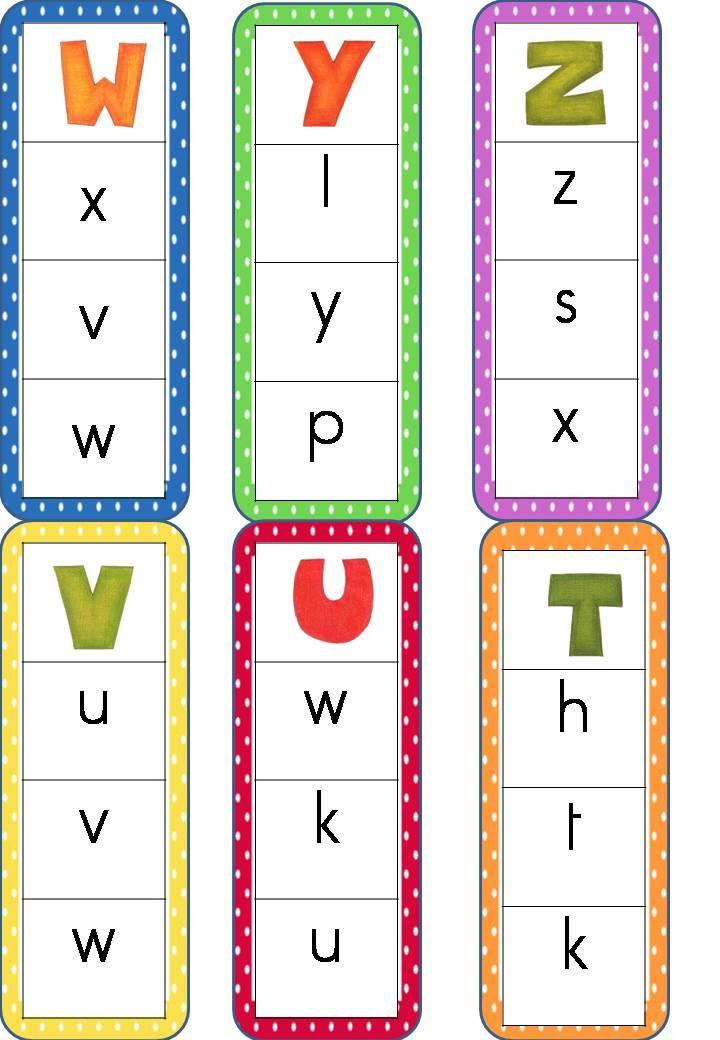 jeu alphabet majuscule/script