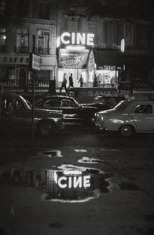 "greeneyes55: "" Paris 1960s Photo: Johan van der Keuken """