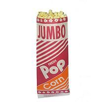 "Gold Medal Jumbo 12"" Popcorn Bag - 2 oz. - 2,000 ct."
