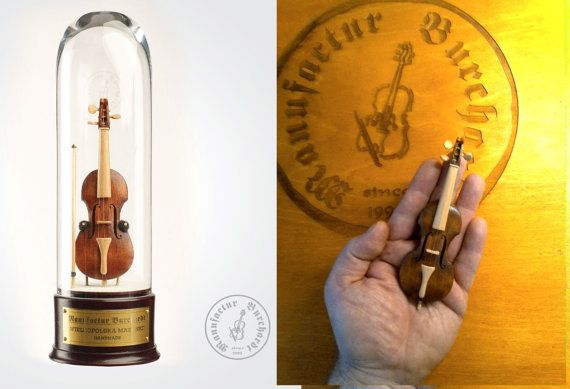 Handmade miniature instrument  Mazanki of by ManufacturBurchardt