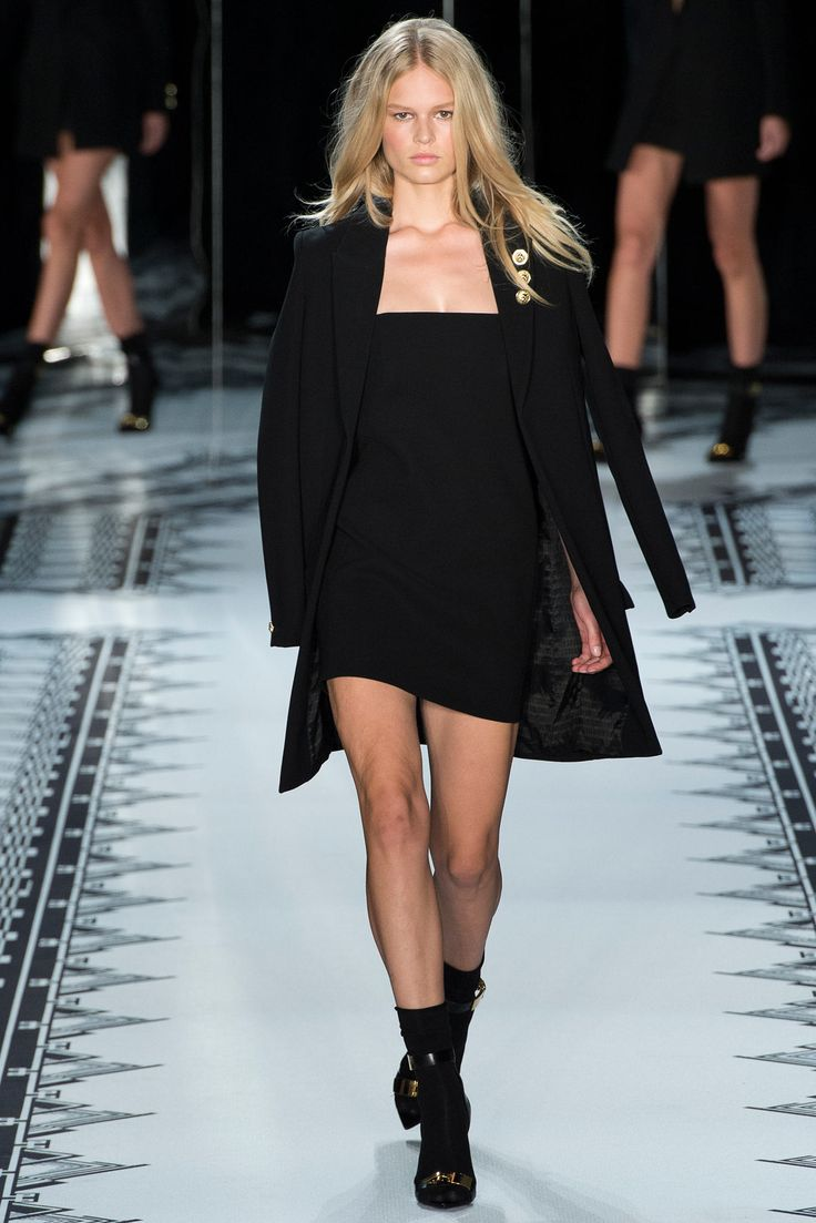 new winter coats Versus Versace Spring 2015 Ready to Wear Collection Photos   Vogue