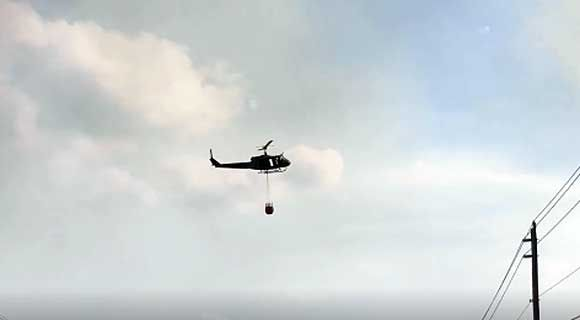 Brevard County Fire Rescue, Brevard County Sheriff's Office Aviation Unit Fighting Brush Fire Near Adamson Road - SpaceCoastDaily.com