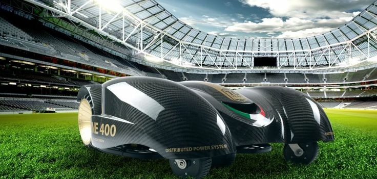 The Ambrogio L400 is without doubt the largest and most advanced Automatic Lawn Mower in the world. Designed to cater for sport fields and football Stadiums.  To discover more about the Ambrogio L400 Robot Lawn Mower visit  http://www.ambrogiorobots.com