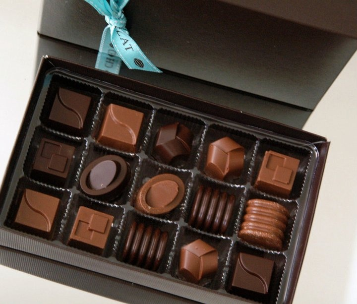 Coffret 15 bonbons chocolat PGO