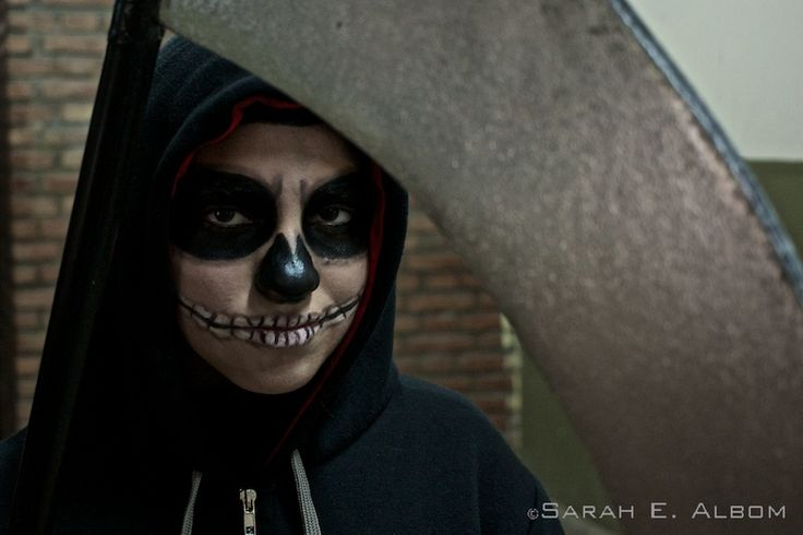 The Grim from Cartoon Network's The Grim Adventures of Billy and Mandy - taken in Santa Fe, Argentina. Photo copyright ©Sarah Albom 2016