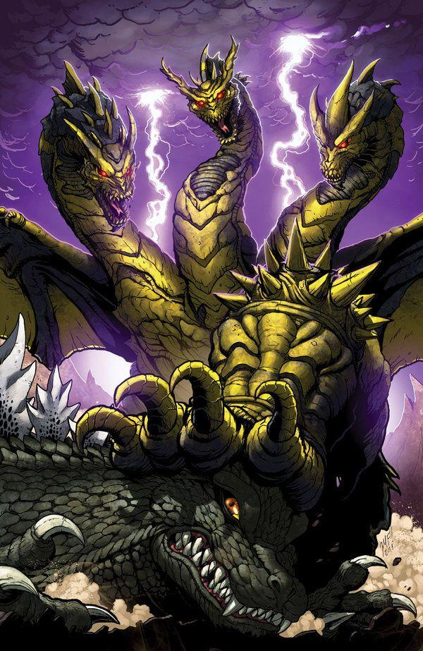 Godzilla Ongoing 13 cover by KaijuSamurai.deviantart.com on @deviantART
