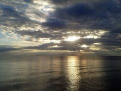 wild #sky and calm #sea at #Fourka Kassandra #Halkidiki