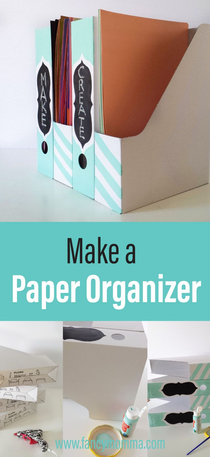 how to make a paper organiser