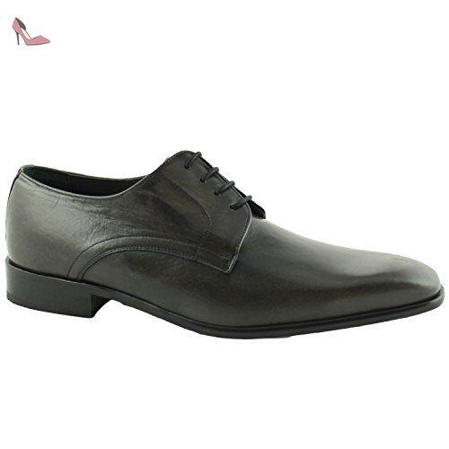 Jetko, Chaussures de ville homme - Gris (Martinica Gris Foncé), 46 EUPierre Cardin