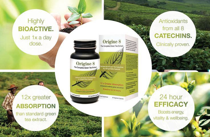 Origine 8 The revolutionary NEW ORIGINE 8 complete green tea superfood extract. - Highly BIOACTIVE.  Just 1x a dose.  - Antioxidants from all 8 CATECHINS.  Clinically proven.  - 12x greater ABSORPTION than standard green tea extract.  - 24 hour EFFICACY  Boosts energy, vitality & wellbeing.  www.origine8.com