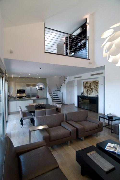 187 best interiors double height living images on for Double height living room designs