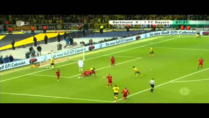 Pokalfinale 2012: Bor.Dortmund- Bayern München 5:2