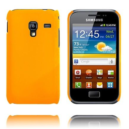 Hard Shell (Orange) Samsung Galaxy Ace Plus Cover