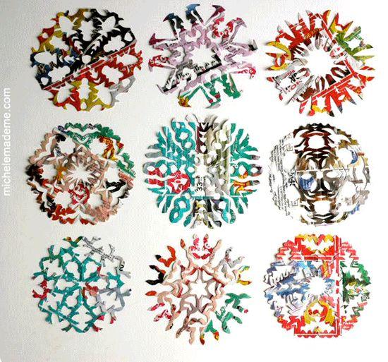 Junkmail snowflakes