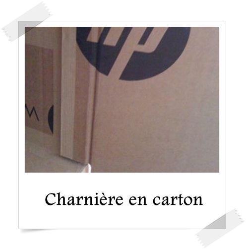 Une charnière en carton ce n'est pas difficile à fabriquer, alors voilà trois erreurs à éviter lors de la conception.