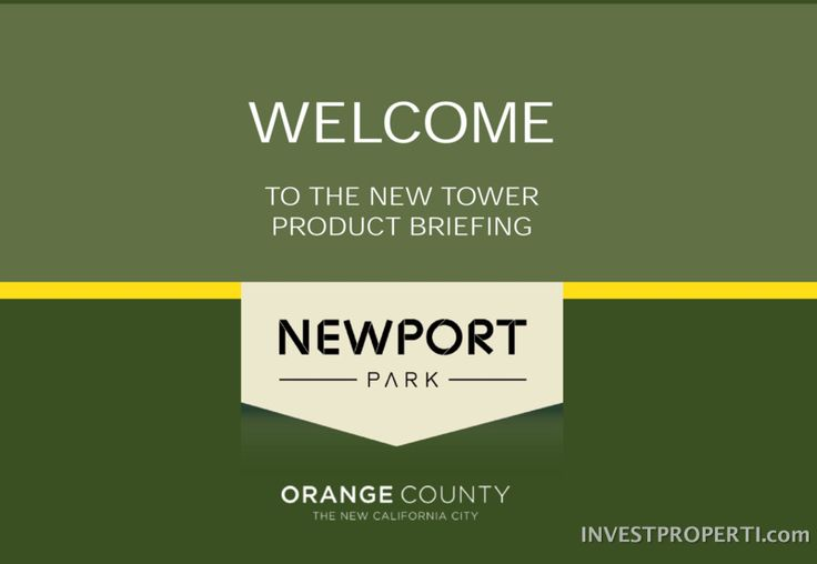 Brosur Apartemen Orange County Cikarang #NewPortParkCikarang